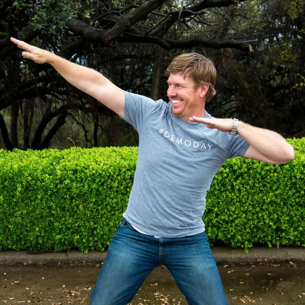 If you've ever watched Fixer Upper, then you know that demo day is Chip's favorite. Something about tearing down walls and breaking things with a sledgehammer i