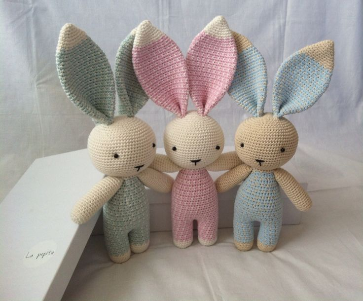 Amigurumi Bunny Ears : Best kanínur images amigurumi patterns crochet