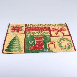 Prostírání Vánoční mozaika