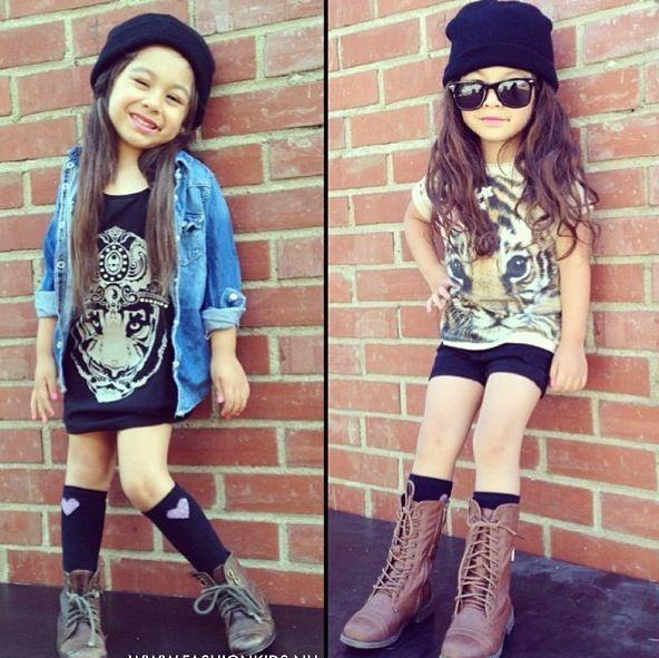 Little Girl Hipster | www.pixshark.com - Images Galleries ...