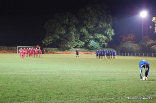 Two Men In Search Of The Beautiful Game: That's Football - Cockfosters FC Vs Enfield Borough FC, Spartan South Midlands League Challenge Trophy 2nd Round, Chalk Lane (08/11/16)