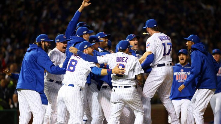 The Cubs won their third straight game over the Dodgers in Game 6 of the NLCS on Saturday night at Wrigley Field, winning the series for their first National League pennant since 1945.