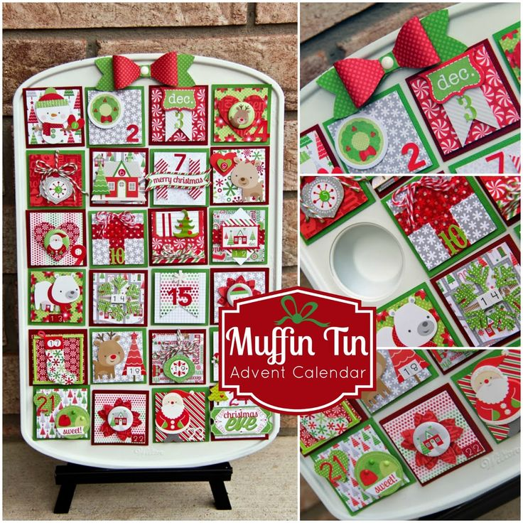 Hi everyone!  Jodi here today to get you in the spirit of Christmas! I loved the idea of creating a reusable advent calendar for the up...