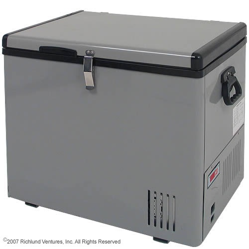 For the Subaru. 12V DC Portable Fridge/Freezer. Wonder if I can find one for cheaper than $475...