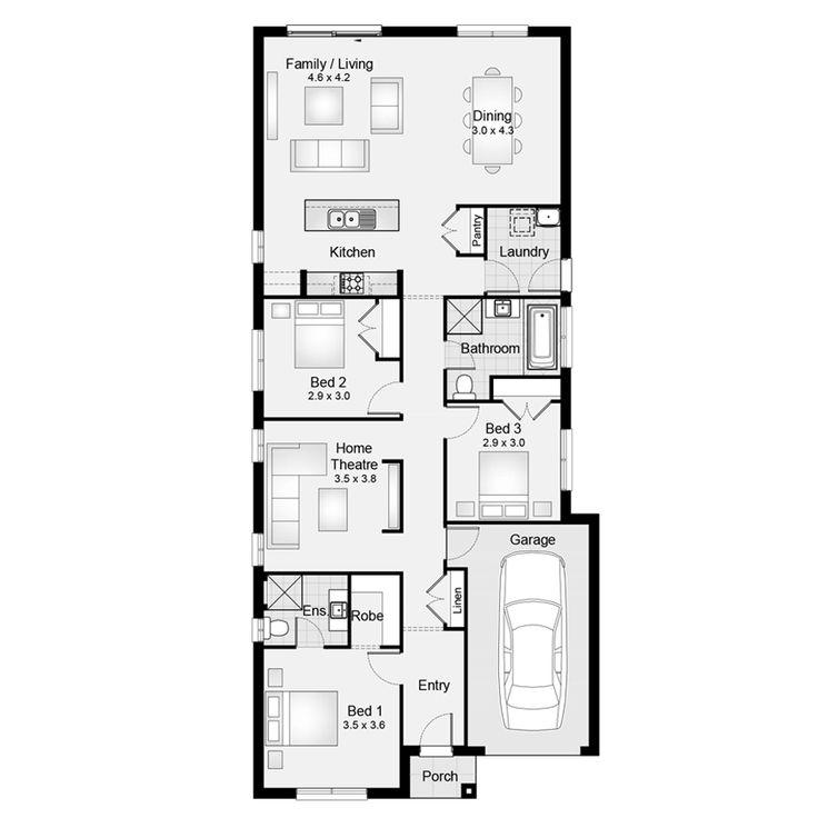 9 Best New Build Floor Plans Images On Pinterest Floor