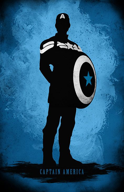 Captain America by MoonPoster