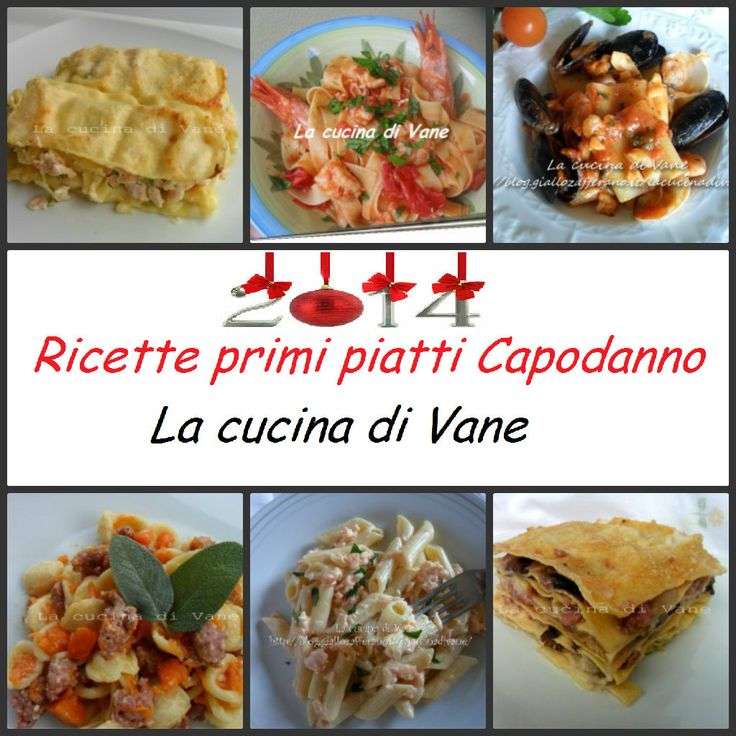 Ricette primi piatti capodanno pasta for Ricette primi piatti pasta