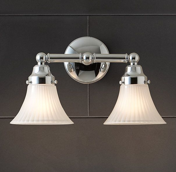25 best lighting images on pinterest bathroom lighting wall chatham double sconce traditional bathroom lighting and vanity lighting restoration hardware mozeypictures Gallery