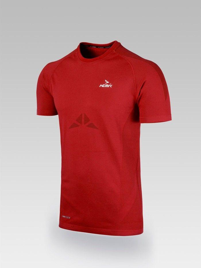 Playera deportiva Red Nemik #tshirt #Red #Nemik