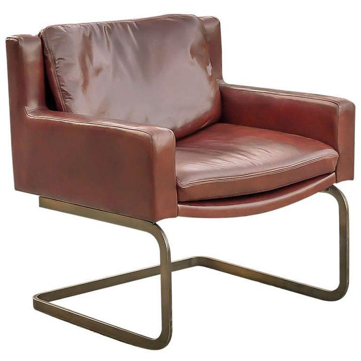 Vintage Stendig 1148 Xanadu Leather Arm Chair