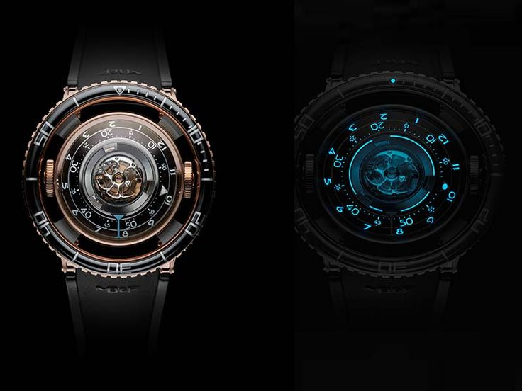 Jelly Fish Sting Inspires Man to Make a #SexyWatch #FLYING #TOURBILLON, #LUXURYWATCH, #MAXIMILIAN BUSSER, #giftsformen, #MBANDF #HM7 #AQUAPOD, #REDGOLD WATCH, #SIHH 2017