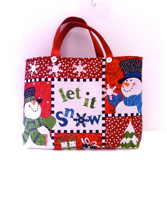 1000+ images about Christmas Tote Bags - Purses