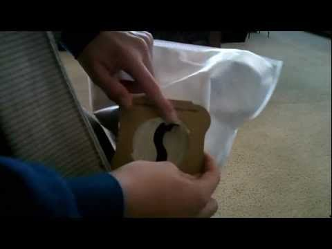 How to change the bag in a KIrby Vacuum - YouTube