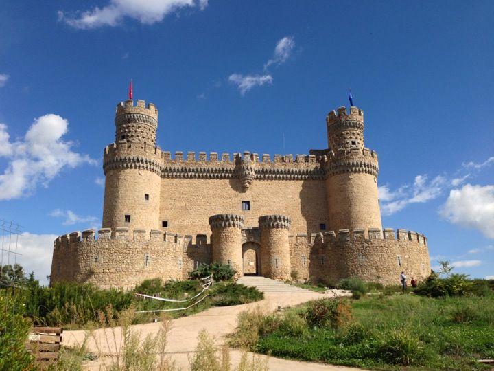 Castillo de Manzanares el Real à Manzanares el Real, Madrid