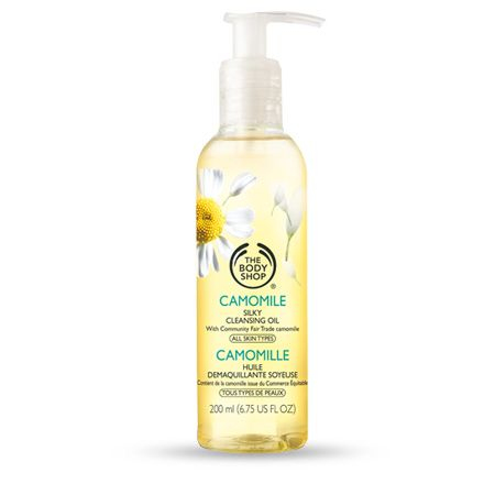 Camomile Silky Cleansing Oil | The Body Shop