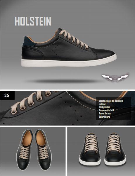 #Calzado modelo holstein, color negro. #moda