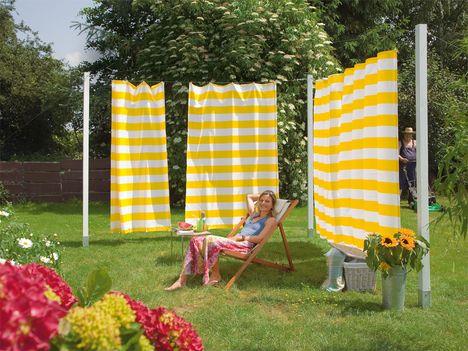 Toller Schutz vor Sonne, Wind und neugierigen Blicken