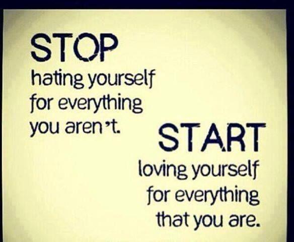 Start Loving Yourself