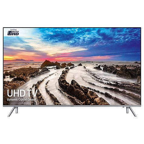 """John Lewis - Which best buy - Buy Samsung UE49MU7000 HDR 1000 4K Ultra HD Smart TV, 49"""" with TVPlus/Freesat HD, Dynamic Crystal Colour & 360 Design, Silver, Ultra HD Certified Online at johnlewis.com"""