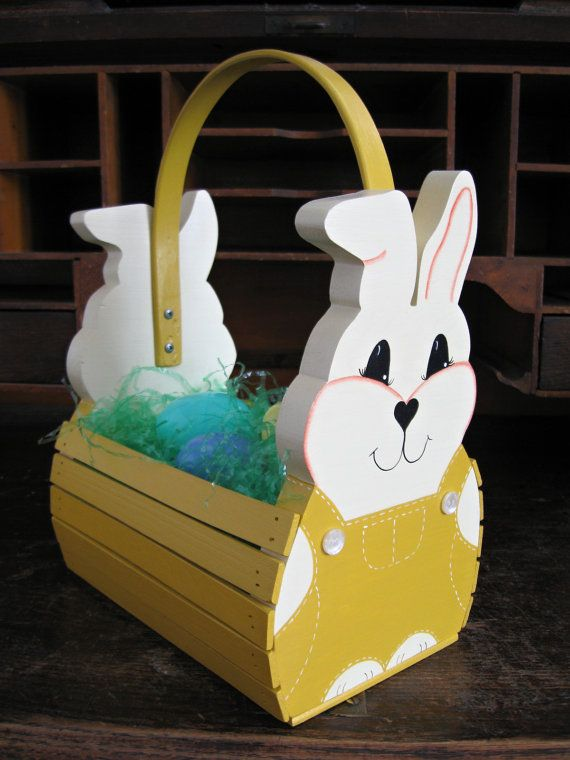 Personalized Handmade Wooden Children's Easter by TheCountryTouch