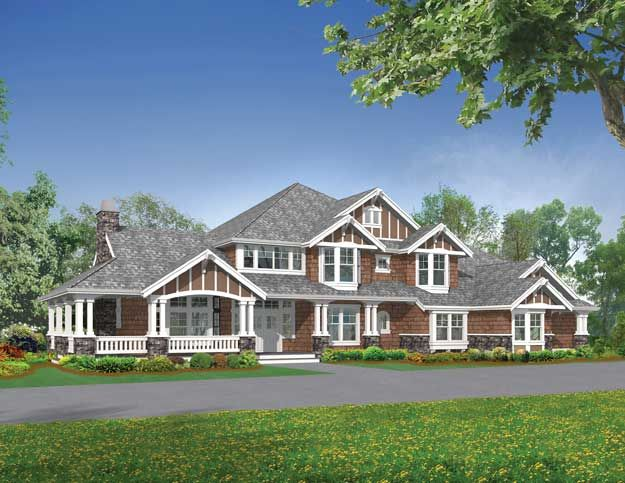 109 best images about craftsman home plans on pinterest for Craftsman roofing