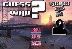 Bienvenido al juego del rostro misterioso de Grand Theft Auto. En este juego tienes que adivinar el personaje misterioso de tu oponente antes que él lo haga. Elige a un personaje de la saga Grand Theft Auto y continuación pregunta a tu oponente para descartar personajes. ¿Adivinarás el rostro misterioso de GTA?