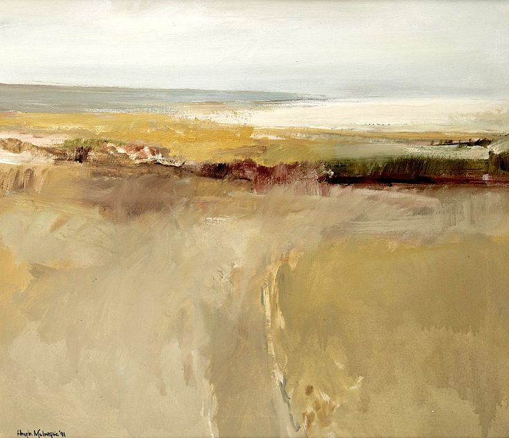 Hugh Mcintyre (Scottish B.1943) On The Solway