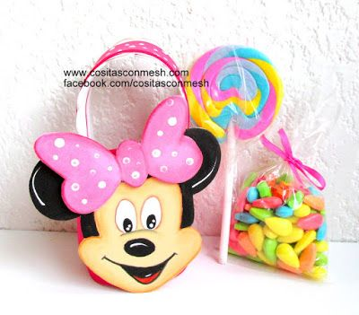 How to face Minnie Mouse children's birthday ~ cositasconmesh