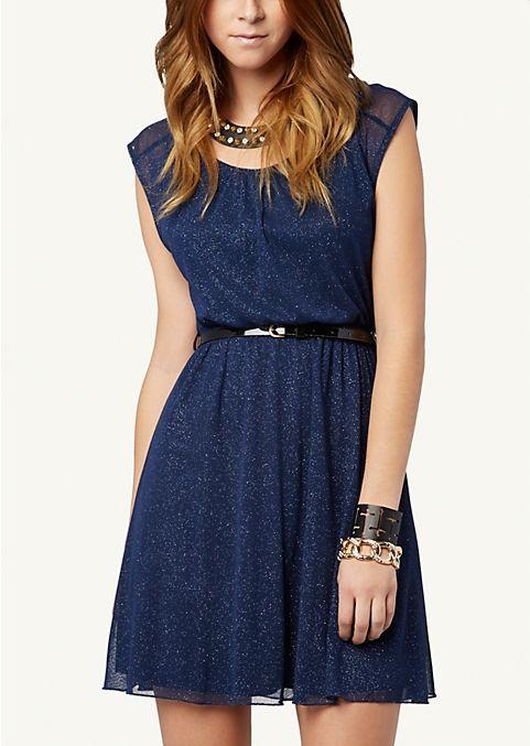 Sparkle Party Dress   Dressy   rue21 dress i am hopefully buying for formal