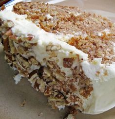 Recipe For Hummingbird Cake - Hummingbird cake is a southern specialty. With all the cream cheese, pineapple, banana, and pecans it sure seems southern to me!
