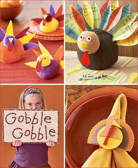 Thanksgiving and other crafts
