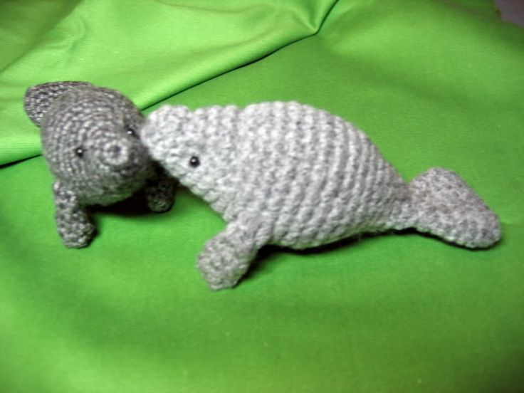 Amigurumi Manatee Pattern : 332 best images about Manatees on Pinterest Happy monday ...
