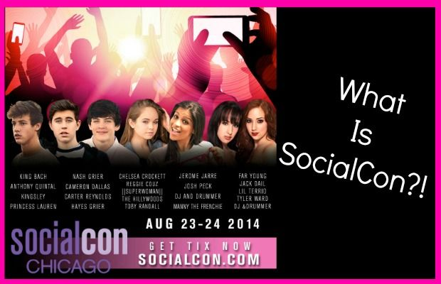 """What is SocialCon?! I recently announced that I will be attending SocialCon in Chicago, IL this weekend, August 23-24! I am so excited to be attending this event and can't wait to meet all of the other talent there is on the web…and you, of course! So, many of you may be asking yourself, """"What is SocialCon?"""" Don'...  Read More at http://www.chelseacrockett.com/wp/advertising/what-is-socialcon/.  Tags: #ChelseaCrockett, #Chicago, #Facebook, #Instagram, #Li"""