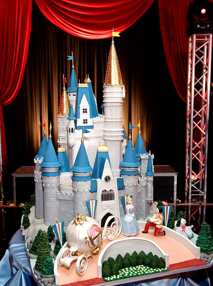 Cinderella Cake ---Addalyne would LOVE this!