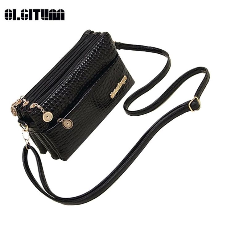 OLGITUM Ladies Small Shoulder Crocodile Pattern Styled Clutch Purse //Price: $17.95 & FREE Shipping //     #fashion