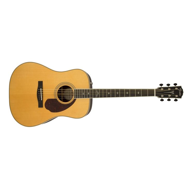 Fender PM-1 Standard Paramount Series Acoustic Electric Guitar in Natural