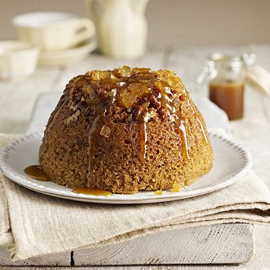 Sticky Gingerbread Pudding with Toffee Sauce