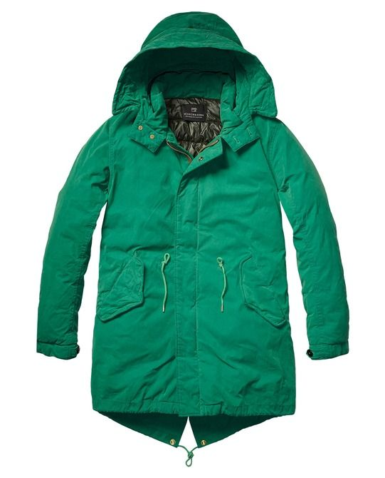 Long Parka With Quilted Lining  I want this one so bad !!!!!