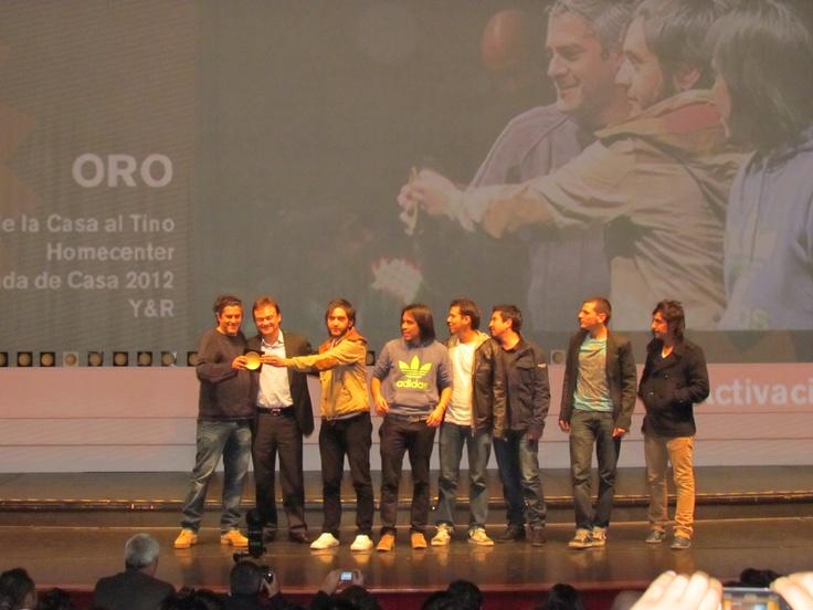 Los ganadores