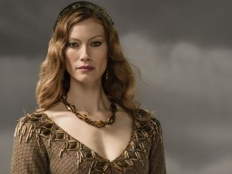 Alyssa Sutherland stars as Princess Aslaug, who arrives in Kattegat with a surprise for Ragnar. Find out more about Aslaug and the rest of the Vikings cast on History.com.