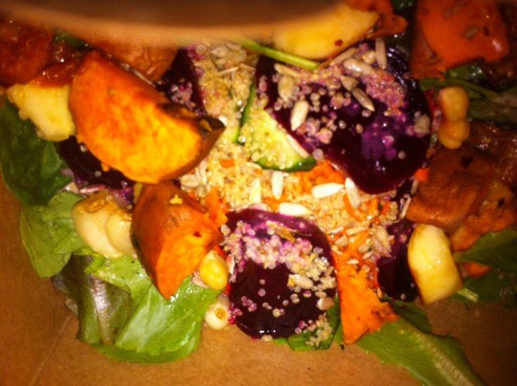 Salad Bar at Calgary's Community Foods