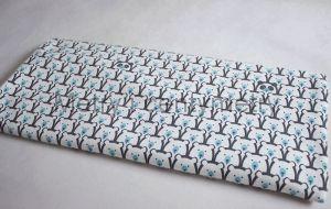 Misiaki grafit+niebieski- dresówka drapana