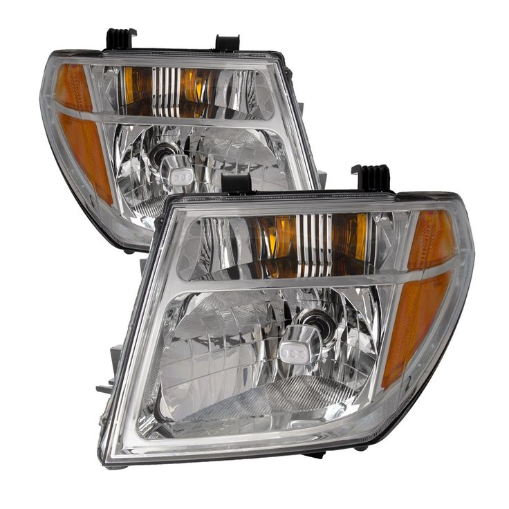 Awesome Fits Nissan 05 07 Pathfinder 08 Frontier Headlights Headlamps Pair