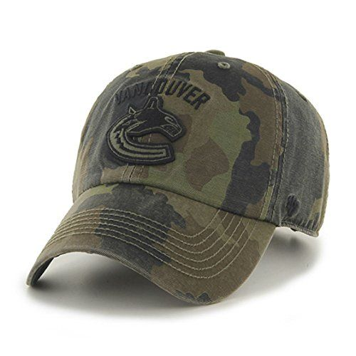 Vancouver Canucks Camouflage Caps