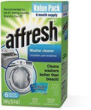 Affresh Washer Machine Cleaner 6-Tablets 8.4 Oz