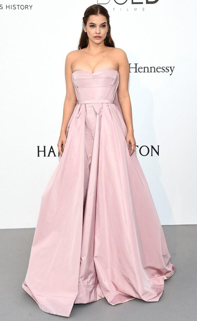 Best Dressed Stars on Cannes Red Carpet 2017 - Barbara Palvin