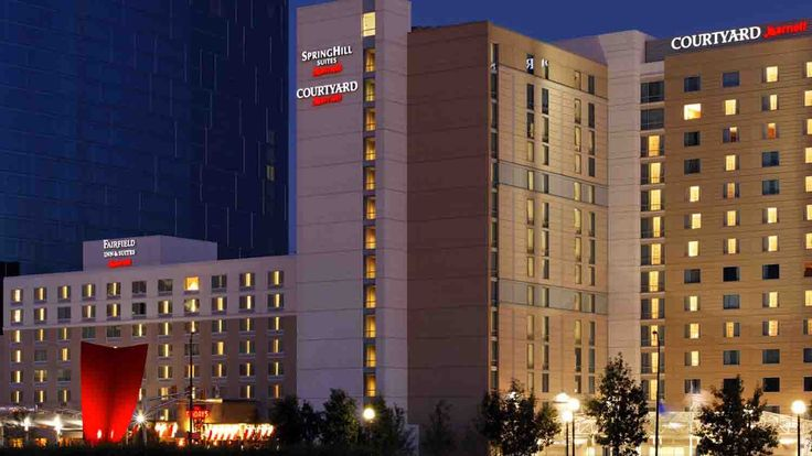 Courtyard marriott downtown 1