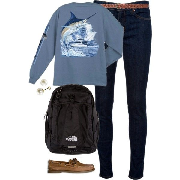school, created by classically-preppy on Polyvore