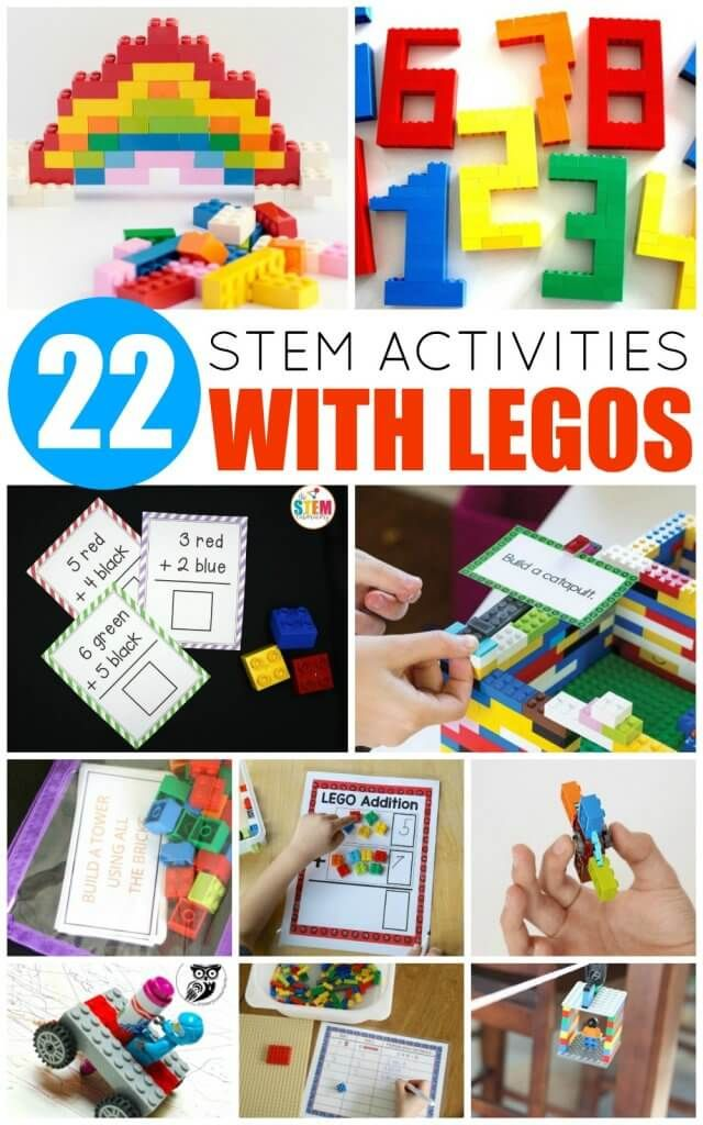 Your LEGO-loving kids will adore these LEGO STEM activities! Learn science, tech... 2