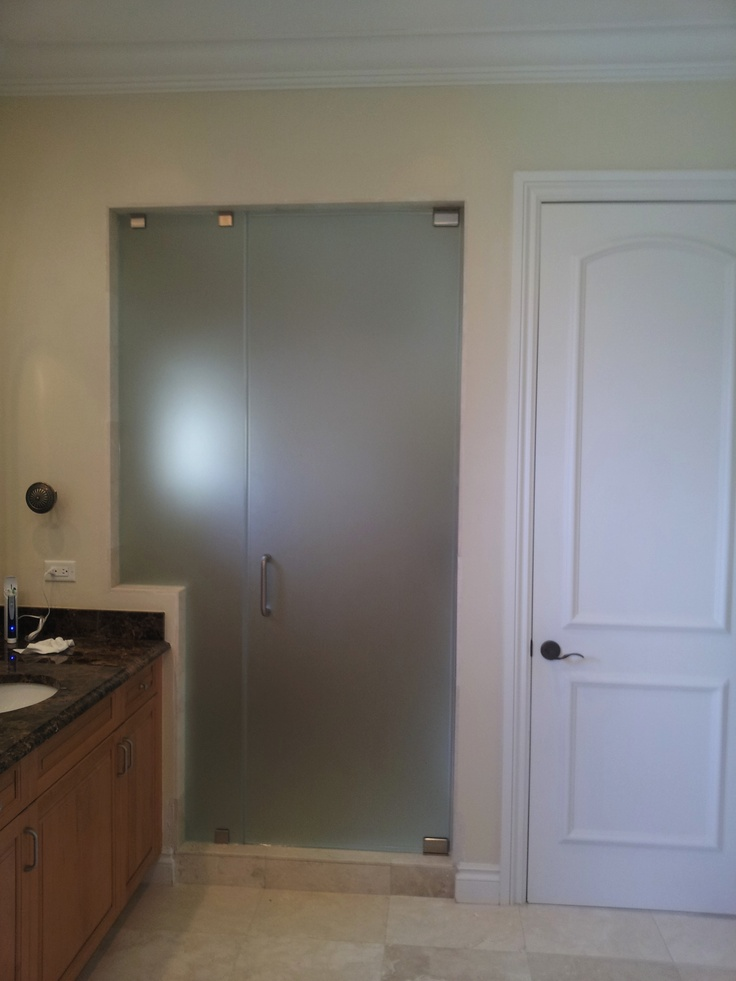 frosted shower door steam shower from green america glass